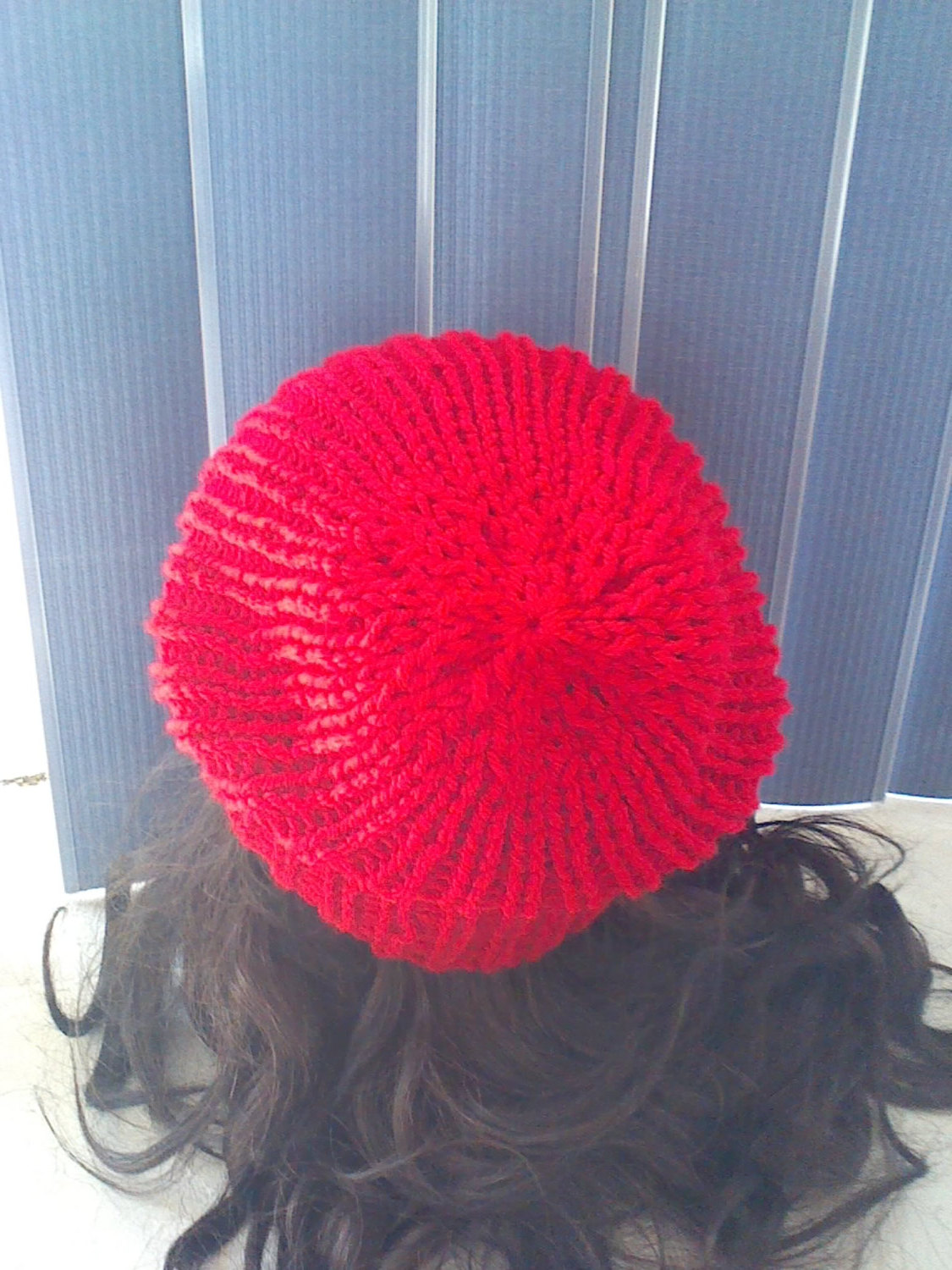 Knitted Red Hat Knitted Touque Womans Accessories Mens Accessories Winter Hat Ribbed